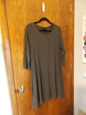Agnes & Dora swing dress. Solid gray. Size XL. Has pockets.
