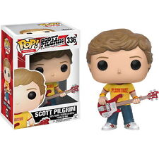 Exclusive Scott Pilgrim with Plumtree T-Shirt SDCC Funko Pop Vinyl NEW in BOX