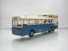 Brekina Mercedes-Benz O 317 Heidelberger Strassenbahn Blue/White 1/87 Scale