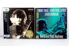 JIMMY PAGE ~ JAPAN MINI LP CD 2 ALBUMS, RARE, ORIGINAL, OOP/ LED ZEPPELIN