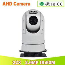 YUNSYE Police high speed PTZ camera 22X Full HD AHD PTZ Camera ptz Analog camera
