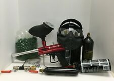Paintball Gear - marker, mask, (5 Co2 tanks and refill kit) and 68 caliber ammo