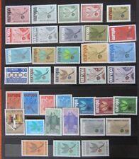 CEPT/Europa 1965, postfrischer vollständiger Jahrgang  (ca.93 €)