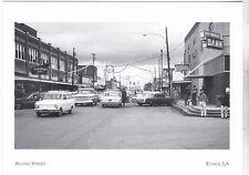 "*Postcard-""Second Street""  -1960's- Christmas Time-  *Eunice, LA (#203)"
