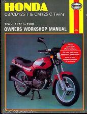 1977-1988 HONDA CB/CD125 T & CM125 C TWINS OWNERS SERVICE MANUAL   (571)