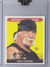 HULK HOGAN 2007 SPORTKINGS * 1 of 94 made* Series A Base Card MINI * Very Rare *