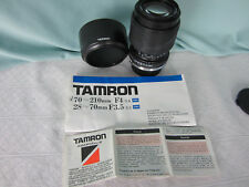 Tamron Camera Lens and Adaptal 2 Mount  Olympus SLR 35 MM Telephoto Macro Japan