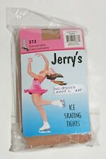 New Jerry's Boot Cover Ice Skating Tights #372 Adult Large Suntan