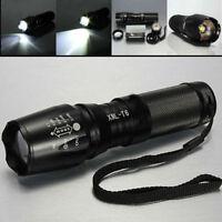 New TAC1 TC1200 1800X Tactical Zoom Flashlight Blinding Seizure inducing strobe
