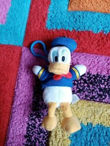 Genuine Disney Character Donald Duck Keyring soft toy