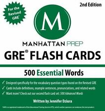 500 Essential Words: GRE Vocabulary Flash Cards (Cards)