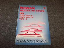 1991 Nissan NX 1600 2000 Electrical Wiring Diagram User Guide Manual 1.6L 2.0L