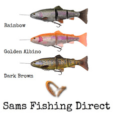 Savage Gear 4D Line Thru Trout 15cm / 20cm SS / MS Pike Fishing Lure