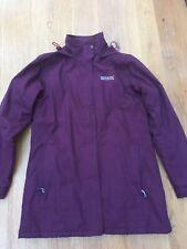 Regatta Burgundy/Wine Coat/Jacket Size 12 Used.