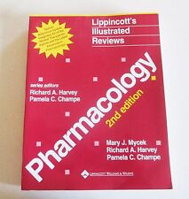 Pharmacology 2nd Edition Book Lippincostt's Illustraded Reviews Textbook