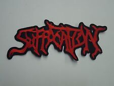 SUFFOCATION DEATH METAL EMBROIDERED BACK PATCH