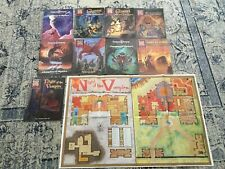 AD&D Lot of 9 Mystara Game Books - Dungeons and Dragons - TSR RPG Game 1Map