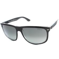 Ray-Ban RB4147 603971 Highstreet Black on Clear/Grey Gradient Unisex Sunglasses