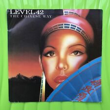 """Level 42 - The Chinese Way B/w 88 (Live) POSP 538  7"""" Single 3 for 1 on postage"""