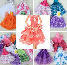 Handmade Party Doll Dress Clothes Gown For s for Kids Color RandomTS