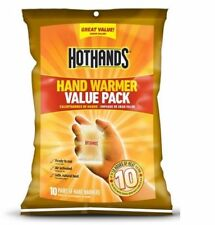 Hot Hands Hand Warmers Long Heat Up to 10 Hours - 20 Pairs of 2 Pack