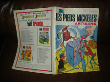 LES PIEDS NICKELES N°80 ARTISANS - EDITION ORIGINALE 1973