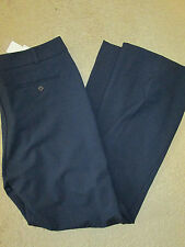 Charter Club dark navy blue TUMMY SLIMMING relaxed hip & thigh pants SZ 14 NWT