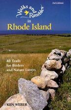 WALKS & RAMBLES RHODE ISLAND 3E: 40 Trails for Birder... by Weber, Ken Paperback