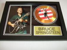 BRUCE SPRINGSTEEN   SIGNED  GOLD CD  DISC  2