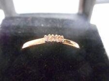Pink Round Fine Diamond Rings