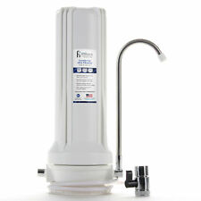 Countertop Ultra Drinking Water Filter For VOCs Cysts Pesticides Chlorine, White