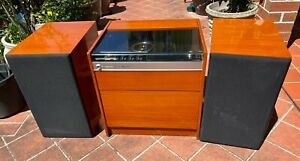 """VINTAGE KRIESLER SOLID STATE RECORD PLAYER & RADIO - """"BABY GRAND"""" - 3 PCE SET"""