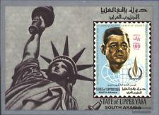 Aden-Upper Yafa Block 9 (kompl.Ausg.) postfrisch 1967 Jahr der Menschenrechte