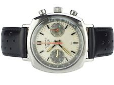 Tag Heuer Camaro 30 Ref. 73343 Exotic Dial Valjoux 7733 Chronograph Armbanduhr