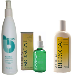 Bioscal Hair Revitalizer, Hair Concentrate & Conditioner - Proven Hair Growth