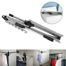 Portable Foldable Clothes Garment Storage Rack Tripod Clothing Drying Stand