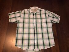 Austin Clothing Co Mens Plaid Multi-Color Shirt S/S Classic Fit- Sz XXL