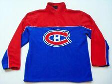 Montreal Canadiens Fleece Sweatshirt Size S Nhl Hockey Shirt Hg Brands Mens T70