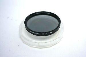 Marumi 72mm P.L (Polarizer) Filter Made in Japan with Original Plastic Case.