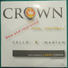 Crown Saiten f. Cello 4/4 ( C in Wolfram! + G- D- A )  Kompletter neuer Satz