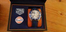 TAG Heuer Formula 1 Gulf Chronograph Special Edition Men's Watch CAZ101N.FC8243