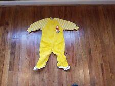 Vintage Disney Winnie the Pooh Sleeper Baby Clothes sz 1T