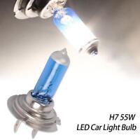 2pcs H7 XENON HALOGEN BULB 5000K Car Super Xenon White Light Bulbs 12V 55W A1W8