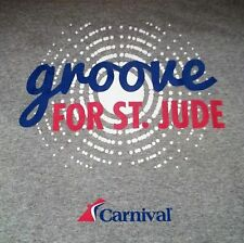 Carnival Cruise Line Groove For St. Jude T-Shirt Adult 3Xl Xxx-Large New Design