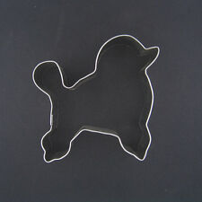"STANDARD POODLE 3"" METAL COOKIE CUTTER FONDANT DOG BIRTHDAY PARTY FAVOR NEW"