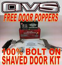 AVS 88-98 CHEVY SILVERADO BOLT IN SHAVED DOOR KIT W/ FREE DOOR POPPERS
