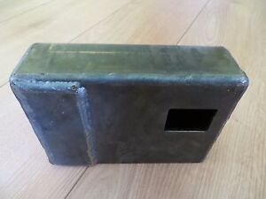 SHIPPING CONTAINER WELD ON LOCK BOX RIGHT HAND OPENING DOOR SECURITY