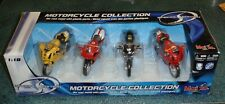 Set of 4 Maisto Ducati SPECIAL ED 1:18 Scale Motorcycle Models - CHRISTMAS GIFT!