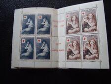 FRANCE - y&t carnet croix-rouge 1954 (gomme alteree ettaches de rouille) (Y2)