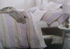 LOGAN & MASON Brixton Quilt Cover Set KING Doona BEDDING Bed Striped Duvet NEW
